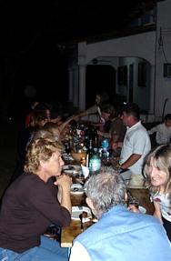 gemütliche Abende bei den Ulisas